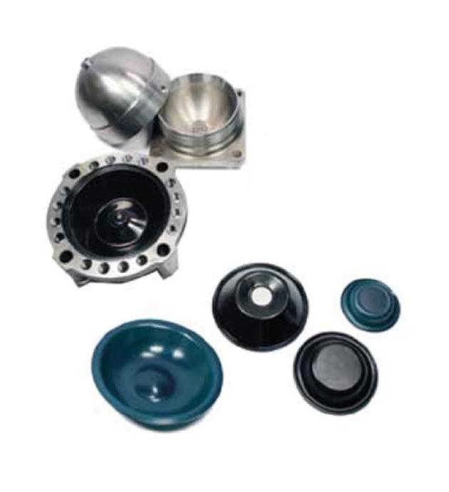 Membrane accumulatori ricambi martelli demolitori idraulici - Eusiti